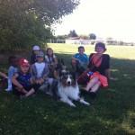 Rencontre avec Sylvie Clenet  et ses chiens visiteurs.En 2010, Sylvie est contactée par une association de Malesherbes qui organisait une manifestation                      PREVENTION DES RISQUES DOMESTIQUES » avec la Maison Des Géants pour une mission « Prévention des Morsures.